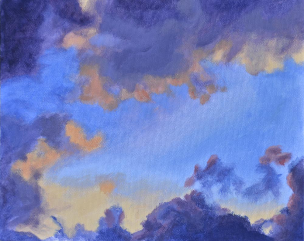 "04 After the Rain,  Hawaii , Oil on canvas, 8 x 10"",  $650"